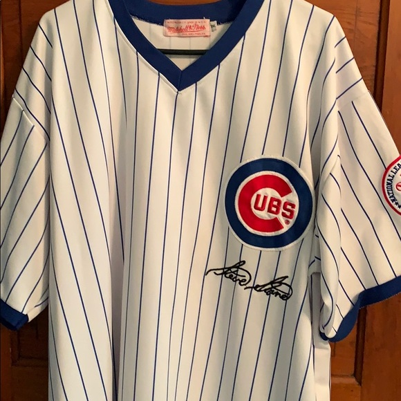 the best attitude 25bf1 1f74f Mitchell and Ness Steve Stone Cubs Jersey 3X